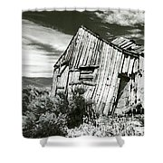 Bodie Barn Shower Curtain