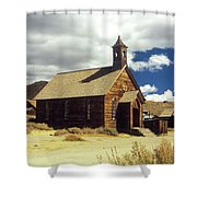 Bodie Church II Shower Curtain