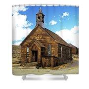 Bodie Church IIi Shower Curtain