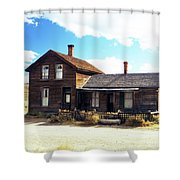 Bodie Houses Shower Curtain