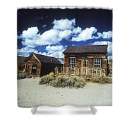 Bodie Houses II Shower Curtain