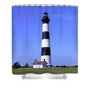 Bodie Island Light Shower Curtain