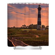 Bodie Island Lighthouse 2 Shower Curtain