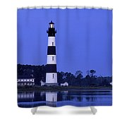 Bodie Island Lighthouse At Dusk - Fs000607 Shower Curtain