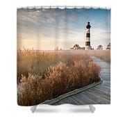 Bodie Island Lighthouse Cape Hatteras National Seashore North Carolina Shower Curtain