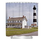 Bodie Lighthouse Nags Head Nc Shower Curtain