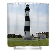 Bodie Lighthouse Nags Head Nc V Shower Curtain