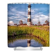 Bodie Reflection Shower Curtain
