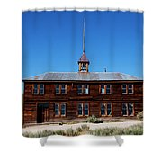 Bodie Schoolhouse 1 Shower Curtain