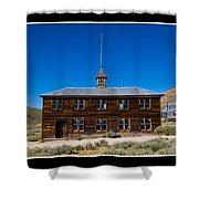 Bodie Schoolhouse Shower Curtain