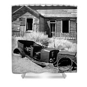 Bodie Time Capsule Shower Curtain