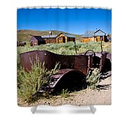 Bodies Bucket Of Bolts Shower Curtain