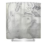 Bodil 3 Shower Curtain