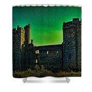 Bodium Castle Panorama Shower Curtain