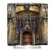 Bodleian Library Door - Oxford Shower Curtain
