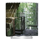 Bodmin Gaol Cornwall England Shower Curtain