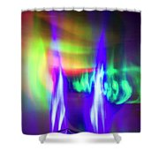 Body Electric Shower Curtain