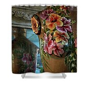 Body Paint Shower Curtain