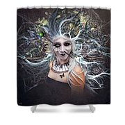 Body Piercing  Shower Curtain