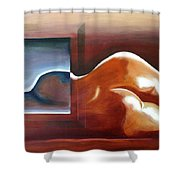 Bodyscape 1 Shower Curtain