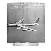 Boeing B-47 Stratojet, Wing-swept Shower Curtain