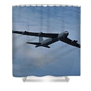 Boeing B-52h Stratofortress Shower Curtain
