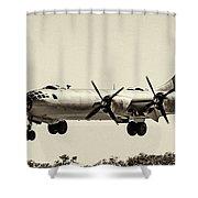 Boeing B29 Shower Curtain