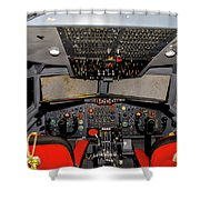 Boeing C-135 Cockpit Shower Curtain