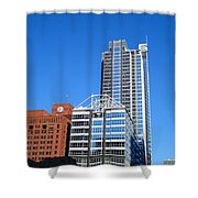 Boeing Chicago Shower Curtain