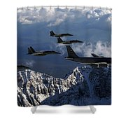 Boeing Kc-135 Stratotanker Shower Curtain