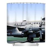 Boeing Kc-97l Stratotanker 22630, Dayton Ohio Shower Curtain