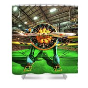 Boeing P-26a Shower Curtain