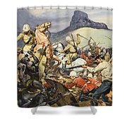 Boers And Natives Shower Curtain