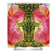Bogomil Anniversary Flower - Digital Shower Curtain