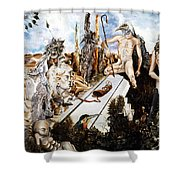 Bogomils Court Shower Curtain