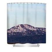 Bogus Basin Shower Curtain