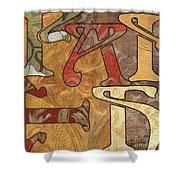Bohemian Faith Shower Curtain by Debbie DeWitt