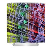 Bohemian Rhapsotree Shower Curtain