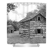 Bohls Cabins At Bee Cave V I Shower Curtain