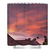 Bohol Sunset  Shower Curtain