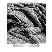 Boiled Boulders Shower Curtain