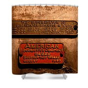 Boilerplates Shower Curtain
