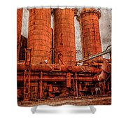 boilers at Sloss Shower Curtain