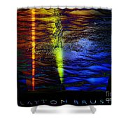 Boiling Colors Shower Curtain