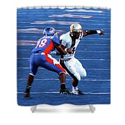 Boise State Great Gerald Alexander Shower Curtain