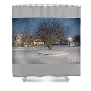 Bojangles Blizzard Shower Curtain
