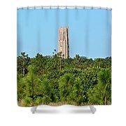 Bok Tower In December Shower Curtain