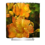 Bokah Lily Shower Curtain