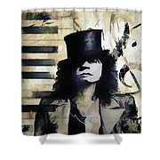 Bolan Notes Shower Curtain