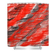 Bold And Dramatic Shower Curtain